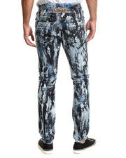 Men - Tied Dye Denim Jeans