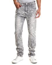 Men - Bleach Splatter Denim