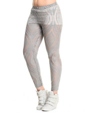 Leggings - Allover Lace Stretch Legging
