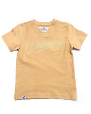 Sizes 4-7x - Kids - SLUB V-NECK TEE (4-7)