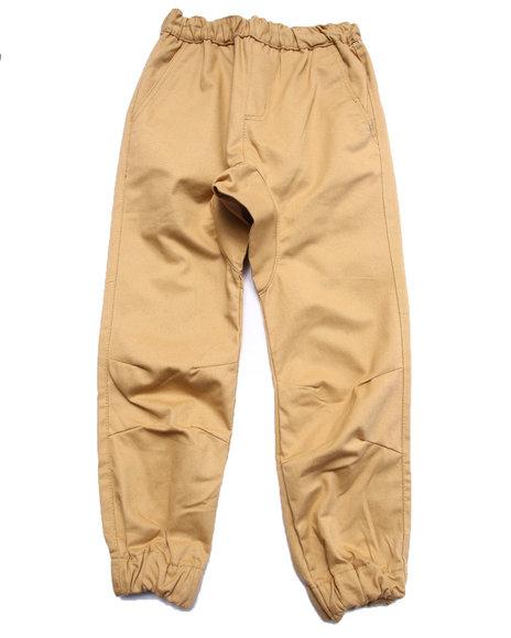 Akademiks - Boys Khaki Twill Jogger Pants (8-20)
