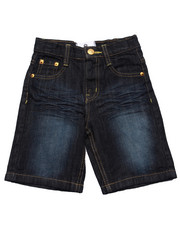 Akademiks - EMBROIDERED POCKET SHORTS (2T-4T)