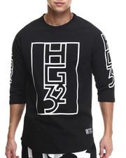 Shirts - HG32 Lines 3/4 Sleeve Raglan Tee