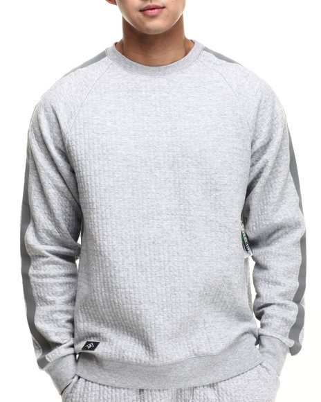 Ur-ID 215827 LRG - Men Light Grey Training Day Sweatshirt