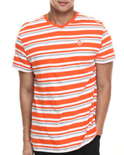 Shirts - Amboy Stripe V-neck s/s tee