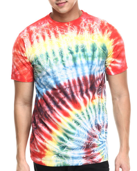 Buyers Picks - Men Multi Gangster Hippie S/S Tee