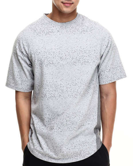 LRG - Men Grey Galactic Knit T-Shirt