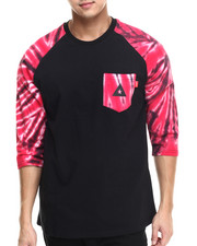 Shirts - Starburst Pocket Raglan Tee
