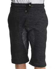 Men - Marled Ath - Leisure Sweatshorts