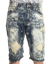 Heritage America - Distressed Denim Shorts