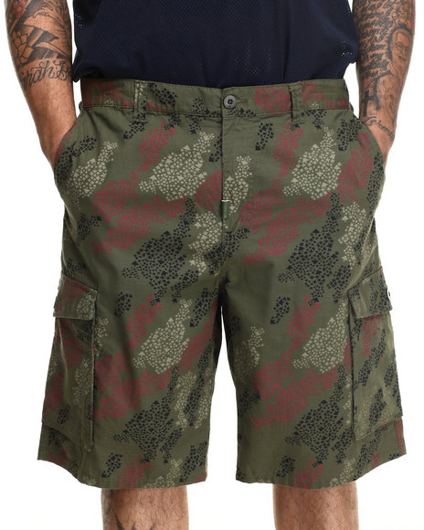 Lrg - Men Camo Rc Classic Cargo Shorts (B&T)