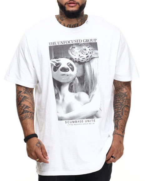 LRG - Men White, White Animal Instincts T-Shirt (B & T)