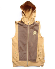 Sizes 4-7x - Kids - HOODY VEST W/ MESH OVERLAY (4-7)
