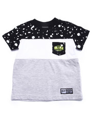 Boys - TEXTURE PRINTED POCKET TEE (2T-4T)