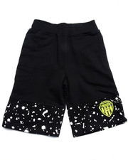 Boys - CUT & SEW KNIT SHORTS (8-20)