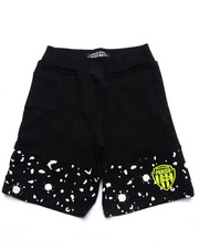 Bottoms - CUT & SEW KNIT SHORTS (4-7)