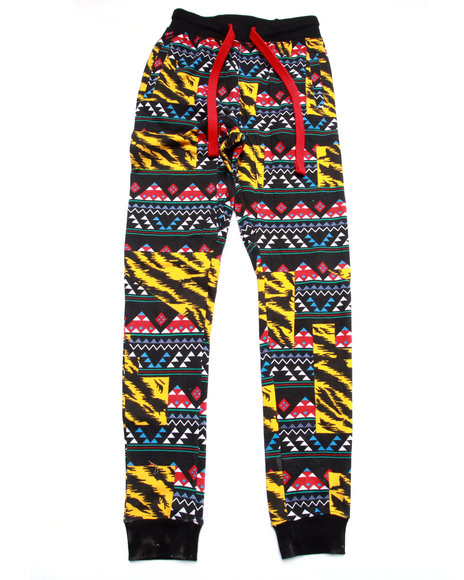 Arcade Styles - Boys Multi Jungle Trible Jogger (8-20)