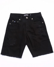 Boys - DISTRESSED TWILL SHORTS (8-20)