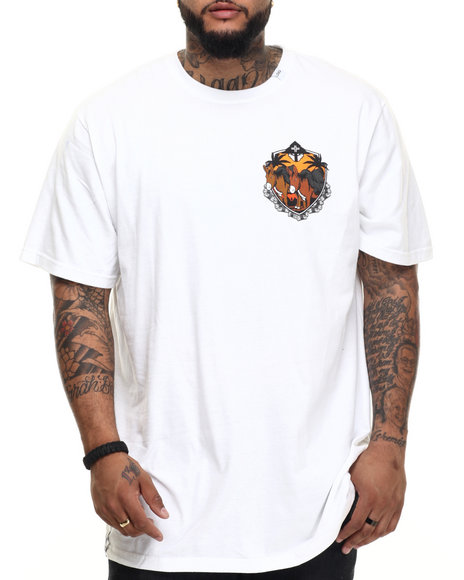 Lrg - Men White Work Horse T-Shirt (B&T)