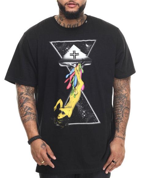 Lrg - Men Black Space Drips T-Shirt (B&T)