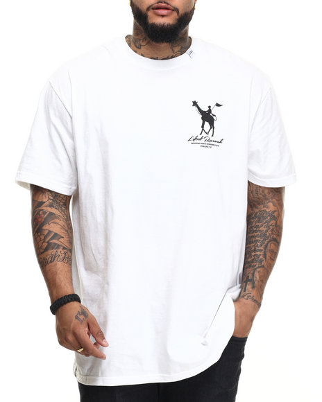 Lrg - Men White Rc Derby T-Shirt (B&T)