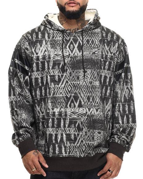 Lrg - Men Black Bizmarck Pullover Hoodie (B&T)