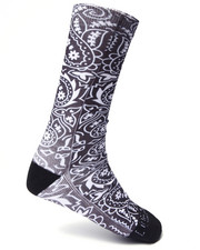 Buyers Picks - Bandana Crew Socks