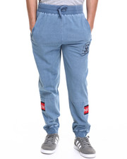 Parish - Printed Indigo Sweatpant
