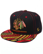 NBA, MLB, NFL Gear - Chicago Blackhawks Kona NHL Snapback Hat
