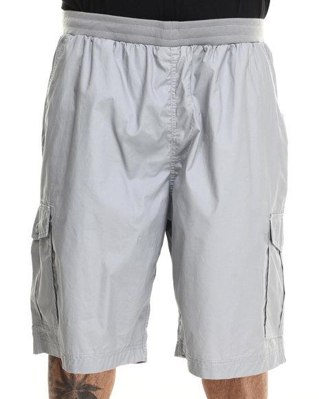 Ur-ID 215995 Ecko - Men Grey Rib Wash Cargo Short (B&T)