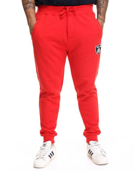 Hustle Gang - Men Red The Blitz Sweatpants