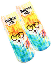 Accessories - Smarty Fox Sublimated Socks