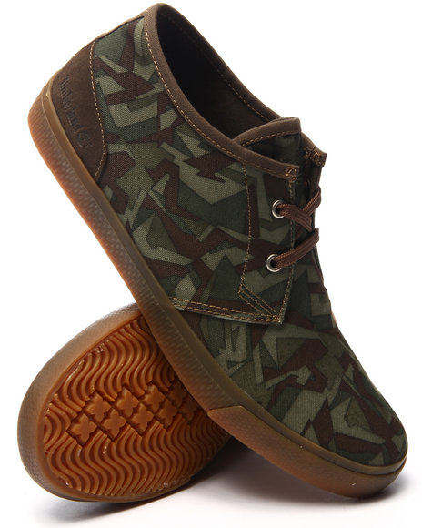 Timberland - Men Camo Earthkeepers Hookset Camp Canvas Chukka