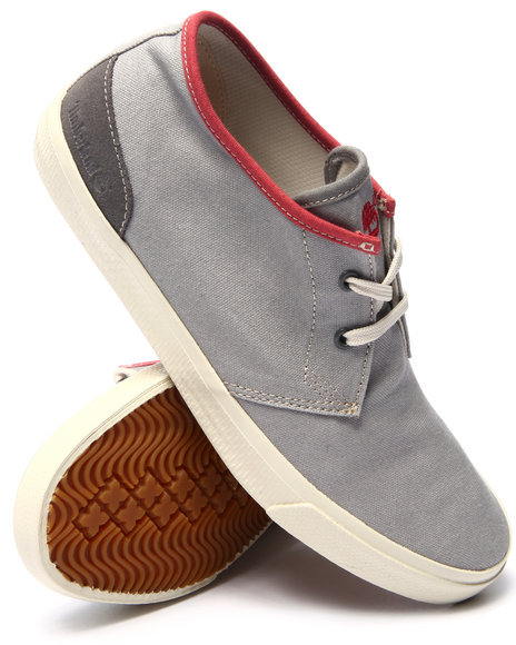 Ur-ID 216010 Timberland - Men Grey Earthkeepers Hookset Camp Canvas Chukka