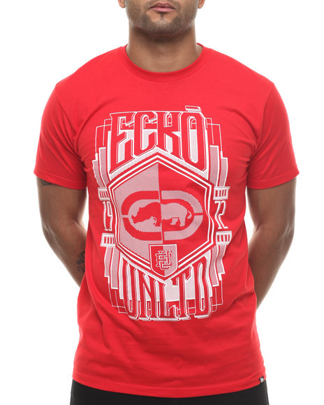 Ecko - Men Red Ecko Crest T-Shirt