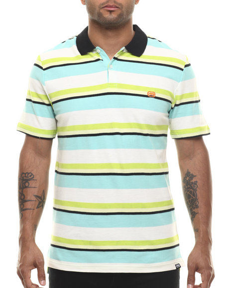 Ur-ID 216063 Ecko - Men Green Stripe Polo
