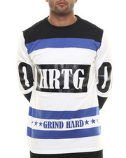 Shirts - Grind Hard Hockey Jersey L/S Tee