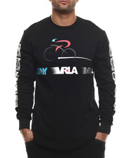 Shirts - V R / N Y Cycling Elongated L/S Top