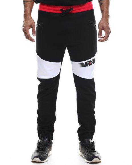 V R N Y - Men Black V R / N Y Signature Logo Joggers - $39.99