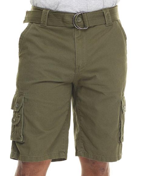 Ur-ID 216056 Ecko - Men Olive Twill Cargo Short
