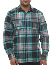 Shirts - Oxford Plaid L/S Button-Down