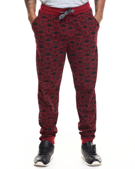 Enyce - Men Red Enter The Dragon All Over Print Jogger
