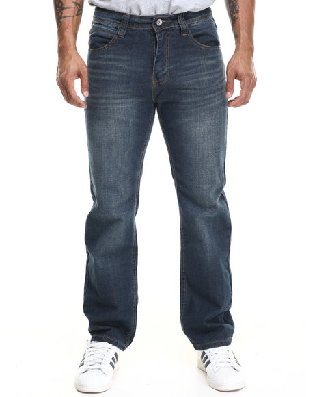 Ur-ID 216044 Miskeen - Men Vintage Wash Vintage Wash Big Hand Back Pocket Embroidery Denim Jeans