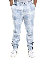 Men - Printed Canvas Jogger