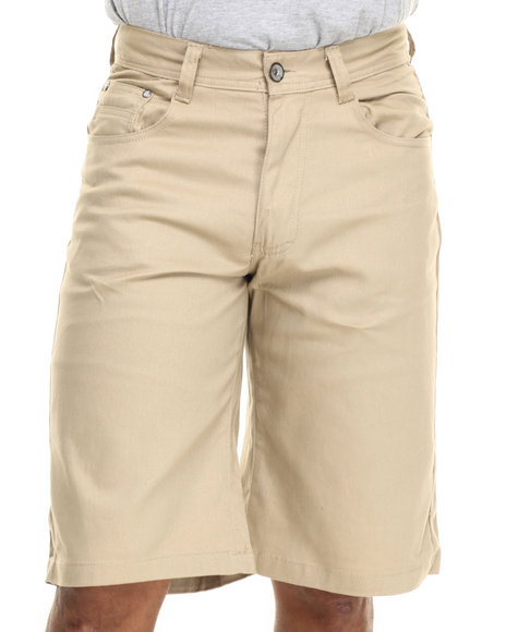 Ur-ID 216069 Miskeen - Men Khaki Heavy Twill Color Shorts