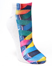 Accessories - Lace-Up Tennies Sublimated Socks