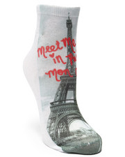 Accessories - Paris Printed Sublimated Socks