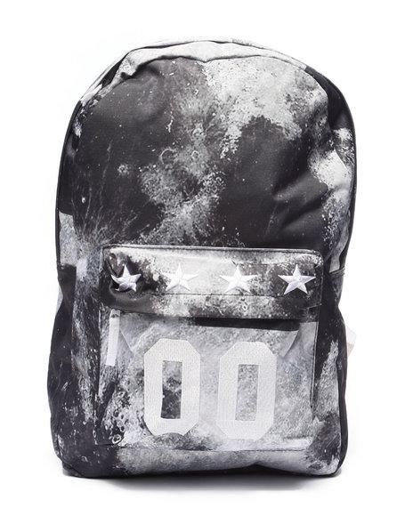 Waimea Men Moon Print Backpack Grey