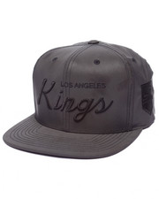 Men - Los Angeles Kings embroidered Script Tonal Reflective Snapback