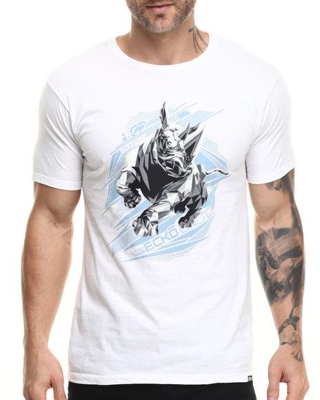 Ur-ID 216127 Ecko - Men White Rhino T-Shirt